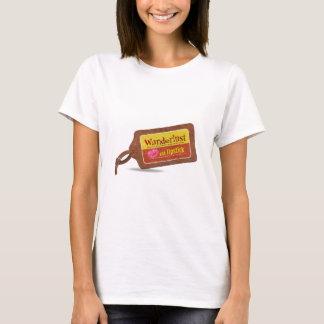 Wanderlust-und Lippenstift-T - Shirt