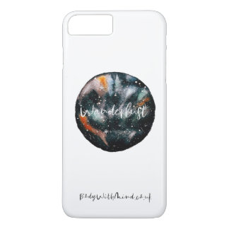 Wanderlust-Wasserfarbe iPhone Fall iPhone 8 Plus/7 Plus Hülle