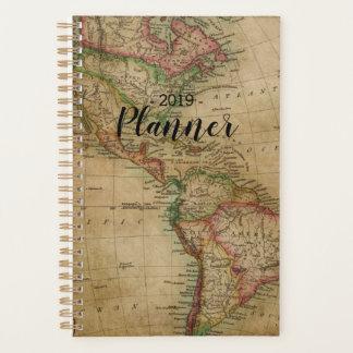Wanderlust-Weltkarte-Reisend-Planer Planer