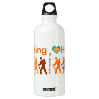 Wandern-multi-farbig Wasserflasche