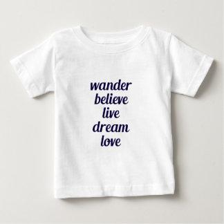 Wandern Sie Baby T-shirt