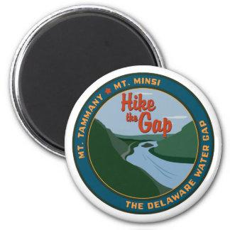 Wandern Sie Gap - Magneten Runder Magnet 5,1 Cm