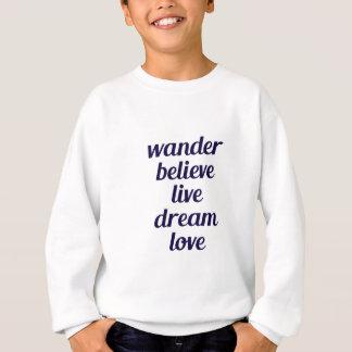 Wandern Sie Sweatshirt
