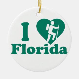 Wanderung Florida Keramik Ornament