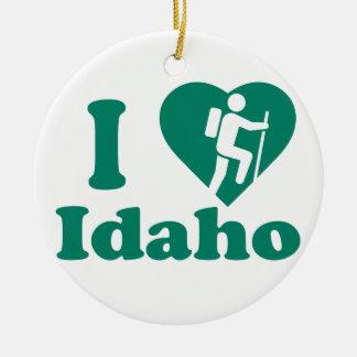 Wanderung Idaho Keramik Ornament