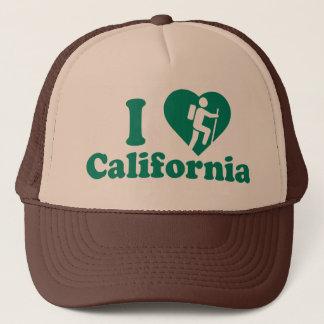 Wanderung Kalifornien Truckerkappe