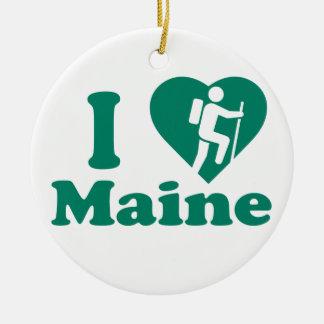 Wanderung Maine Keramik Ornament