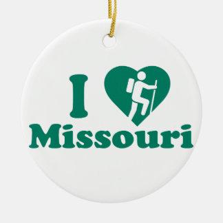 Wanderung Missouri Keramik Ornament