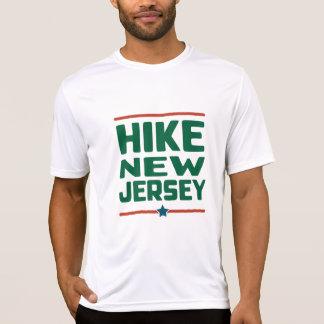 Wanderung New-Jersey (Stern) - Wicking T-Shirt