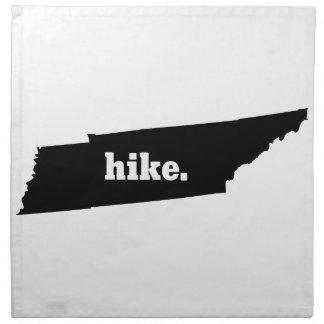 Wanderung Tennessee Stoffserviette