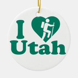 Wanderung Utah Keramik Ornament