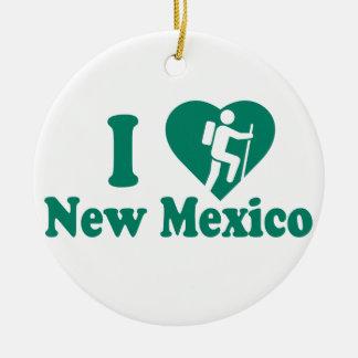 Wanderungs-New Mexiko Keramik Ornament