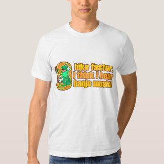 Wanderungs-schnellerer Frosch-T - Shirt