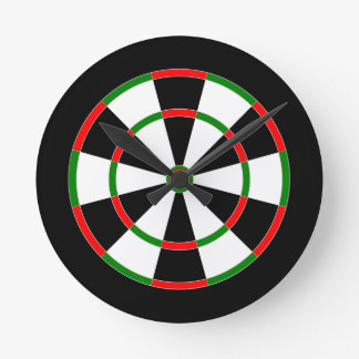 Wanduhr - Dartboarduhrentwurf