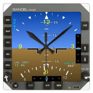 Wanduhr des Flugzeug-Haltungs-künstlichen Horizont