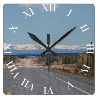 Wanduhr Highway in Kanada