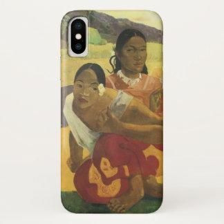 Wann heiraten Sie? durch Paul Gauguin Vintage iPhone X Hülle