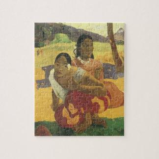 Wann heiraten Sie? durch Paul Gauguin Vintage Puzzle
