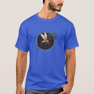 Wanze frei - der grundlegende dunkle T - Shirt der