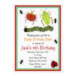 Wanzen-Geburtstags-Einladungen