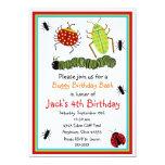 Wanzen-Geburtstags-Einladungen 12,7 X 17,8 Cm Einladungskarte