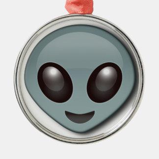 Wanzen-mit Augen alien Silbernes Ornament