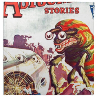 Wanzen-mit Augen Monster Serviette