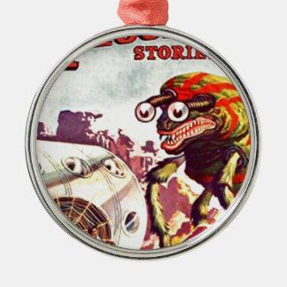Wanzen-mit Augen Monster Silbernes Ornament