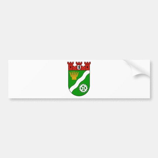 Wappen Berlin Marzahn-Hellersdorf Autoaufkleber
