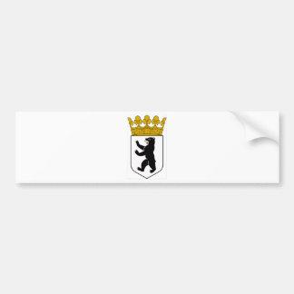 Wappen Berlins (Deutschland) Autoaufkleber