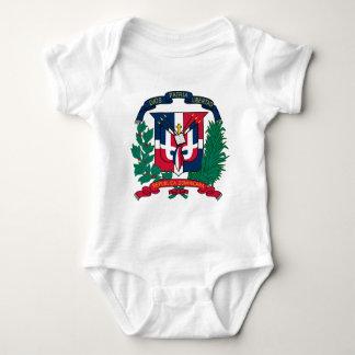 Wappen der Dominikanischen Republik Baby Strampler