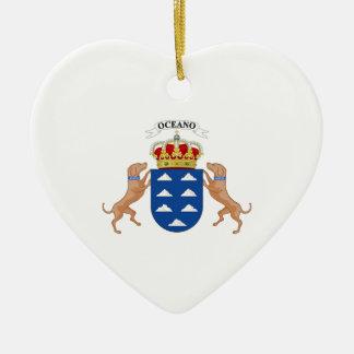 Wappen der Insel-(Spanien) Keramik Ornament