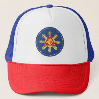 Wappen des Präsidenten der Philippinen Truckerkappe