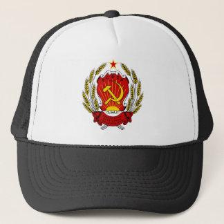 Wappen des russischen SFSR Truckerkappe
