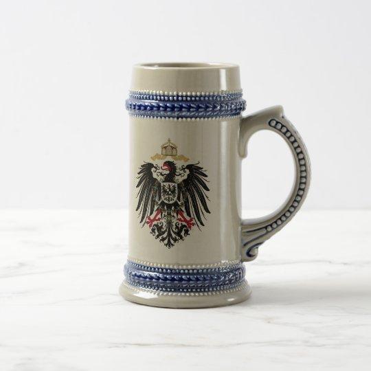 Wappen Deutsches Reich 1889 Reichsadler Bierglas