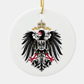 Wappen Deutsches Reich 1889 Reichsadler Keramik Ornament