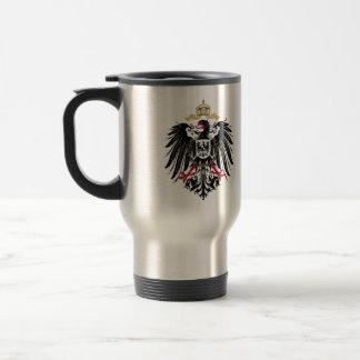 Wappen Deutsches Reich 1889 Reichsadler Reisebecher