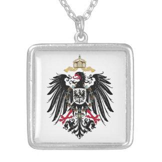 Wappen Deutsches Reich 1889 Reichsadler Versilberte Kette