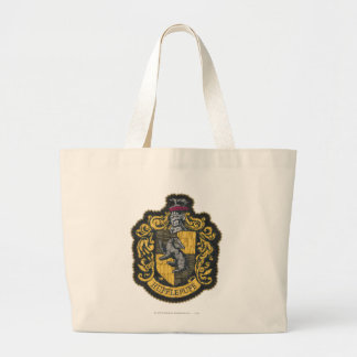 Wappen-Flecken Harry Potter   Hufflepuff Jumbo Stoffbeutel