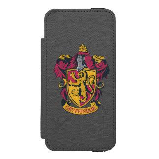 Wappen-Gold und Rot Harry Potter   Gryffindor Incipio Watson™ iPhone 5 Geldbörsen Hülle