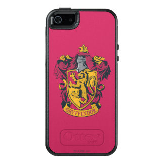 Wappen-Gold und Rot Harry Potter | Gryffindor OtterBox iPhone 5/5s/SE Hülle