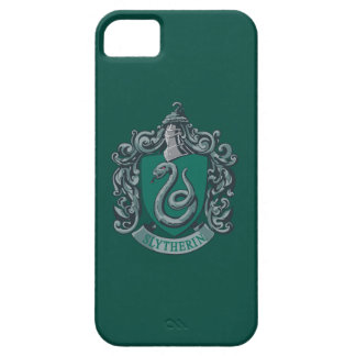 Wappen-Grün Harry Potter | Slytherin iPhone 5 Etuis