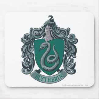 Wappen-Grün Harry Potter | Slytherin Mousepad