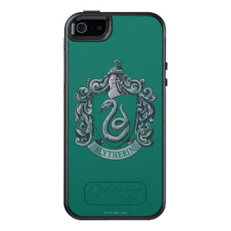 Wappen-Grün Harry Potter | Slytherin OtterBox iPhone 5/5s/SE Hülle