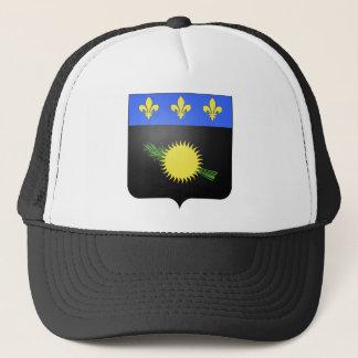 Wappen Guadeloupes (Frankreich) Truckerkappe