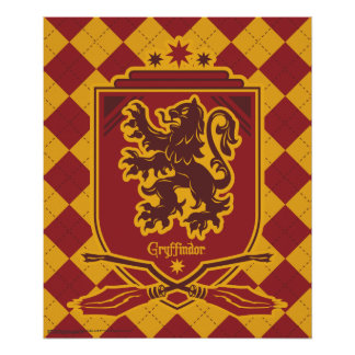 Wappen Harry Potter | Gryffindor QUIDDITCH™ Poster