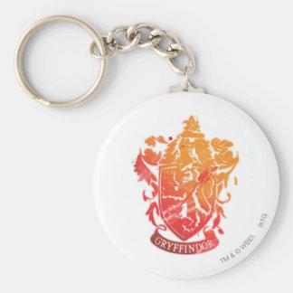Wappen Harry Potter   Gryffindor - Splattered Schlüsselanhänger