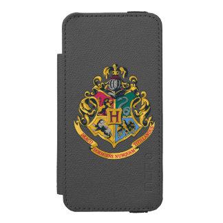 Wappen Harry Potter   Hogwarts - farbenreich Incipio Watson™ iPhone 5 Geldbörsen Hülle