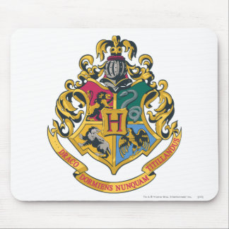 Wappen Harry Potter | Hogwarts - farbenreich Mauspad