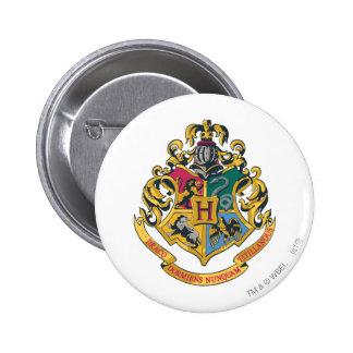 Wappen Harry Potter | Hogwarts - farbenreich Runder Button 5,7 Cm